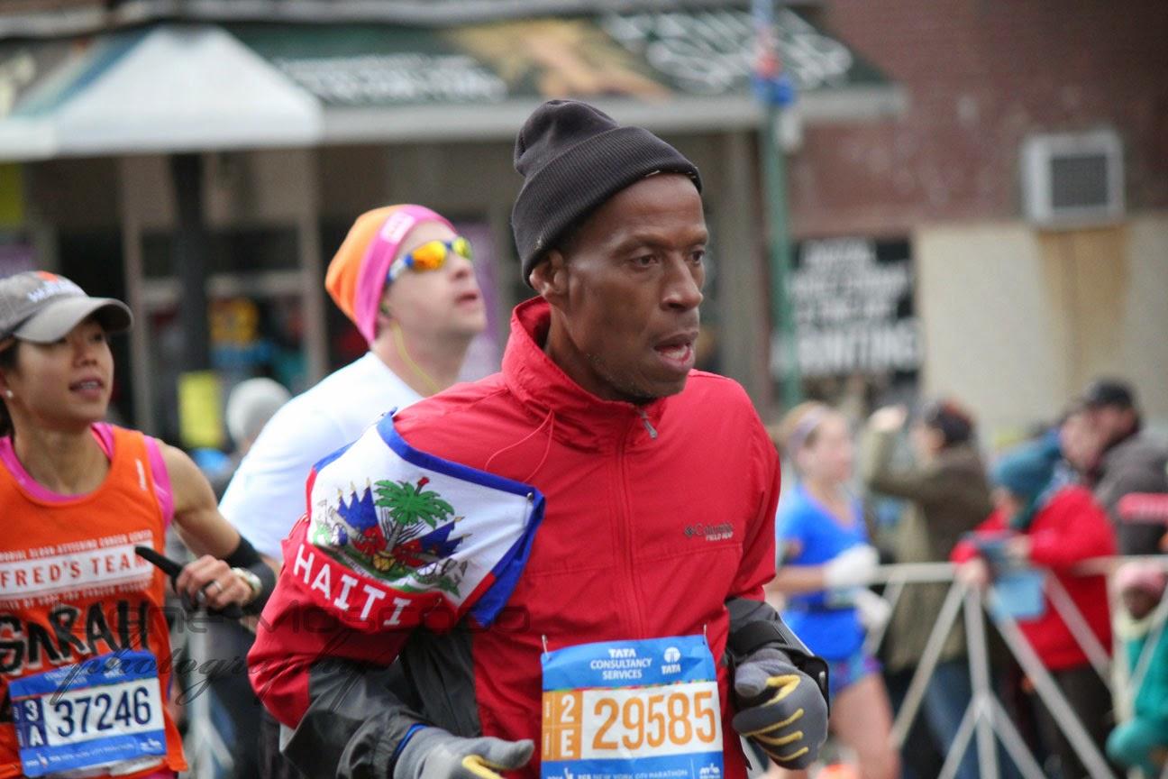 Haiti en el Maratón de la Ciudad de Nueva York 2014