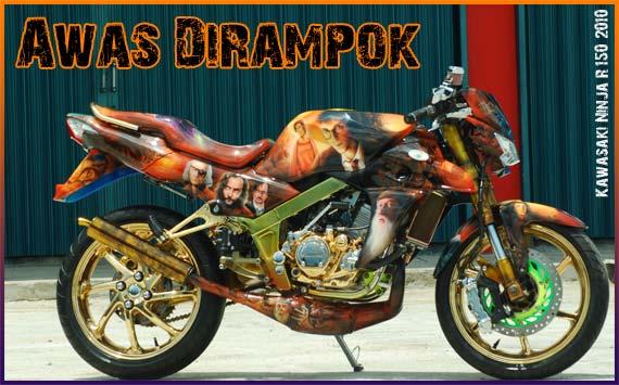 Kawasaki Ninja 150 R, Awas Dirampok ! title=