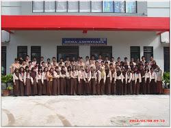 REGU ANDALAN GUDEP AHMAD YANI PANGKALAN SMPN 1 MUARA BADAK TAHUN 2012