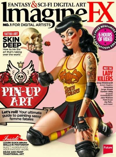 Imagine FX Magazine February 2014