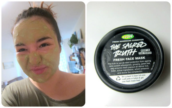 Lush The Sacred Truth Fresh Face Mask