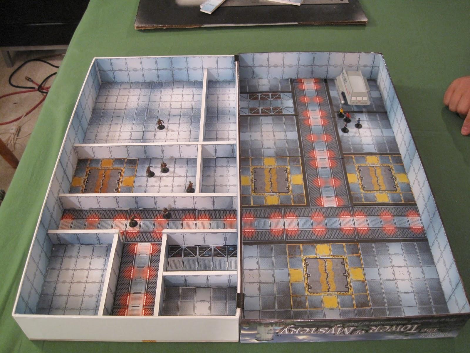 Captain S Blogs Board Game Box Ship Interior