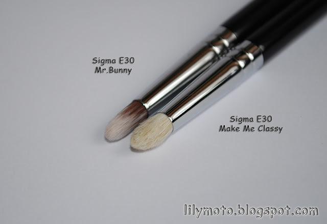 Кисть-карандаш для теней Sigma Mr.Bunny Е30