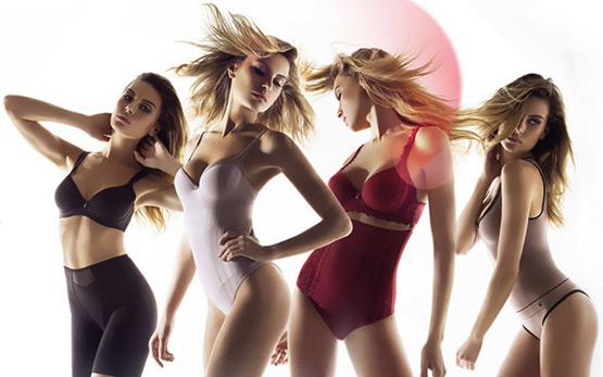 lingerie modeladora Triumph linha Shape Sensation