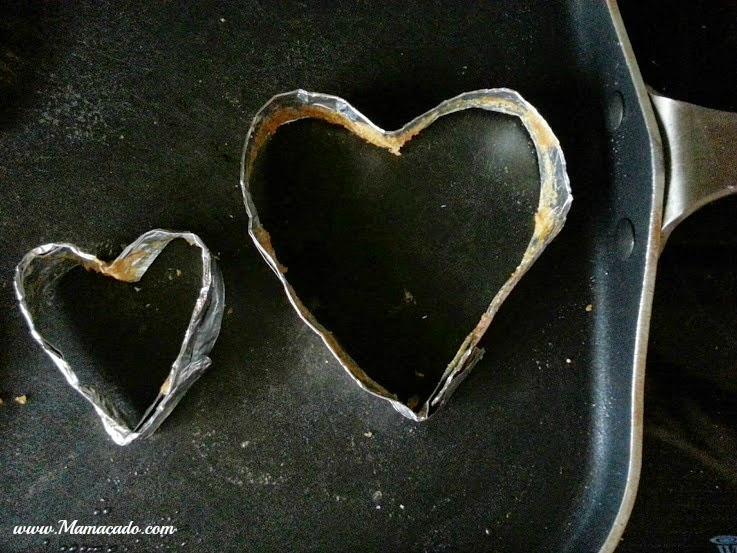 Easy Heart Shaped Pancakes for Valentine's Day