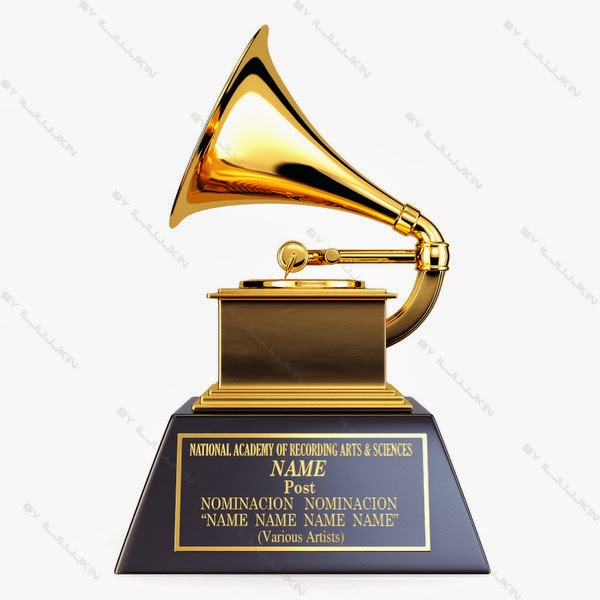 Blank Grammy image from Bobby Owsinski's Music 3.0 blog