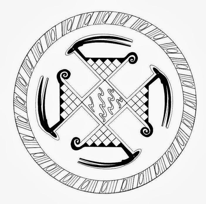 Reeducación Gráfica & Cromoterapia : Mandalas Simbólicos para colorear
