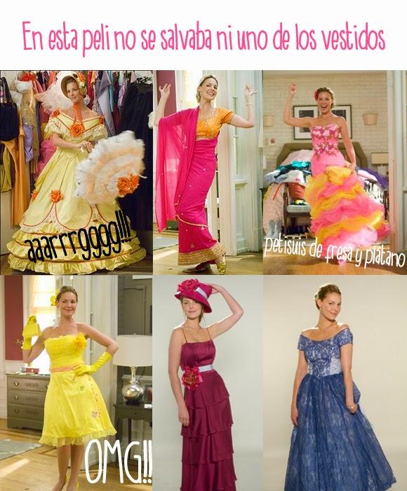 27 vestidos, la película