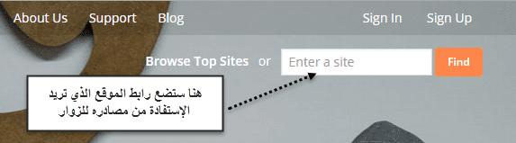 دورة إحتراف السيو : الدرس 5 تعرف على مصادر زوار كل المواقع واستفد منها