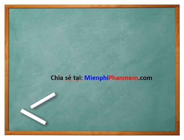 Hình nền PowerPoint bảng phấn