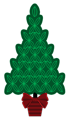 Green Christmas Xmas tree clip art free png download