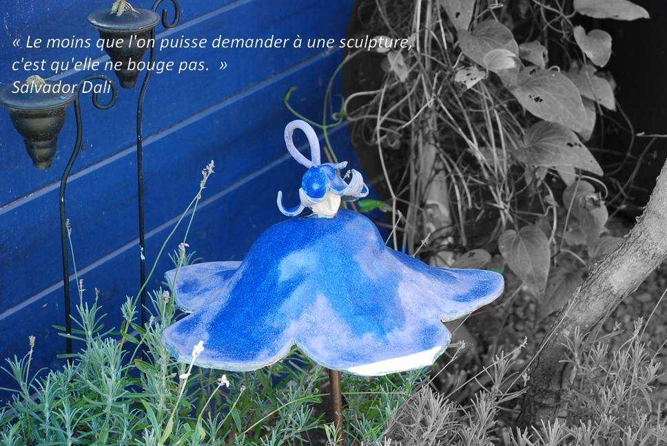 Atelier des mains la c ramique s 39 invite au jardin for Au jardin de la nymphe bleue