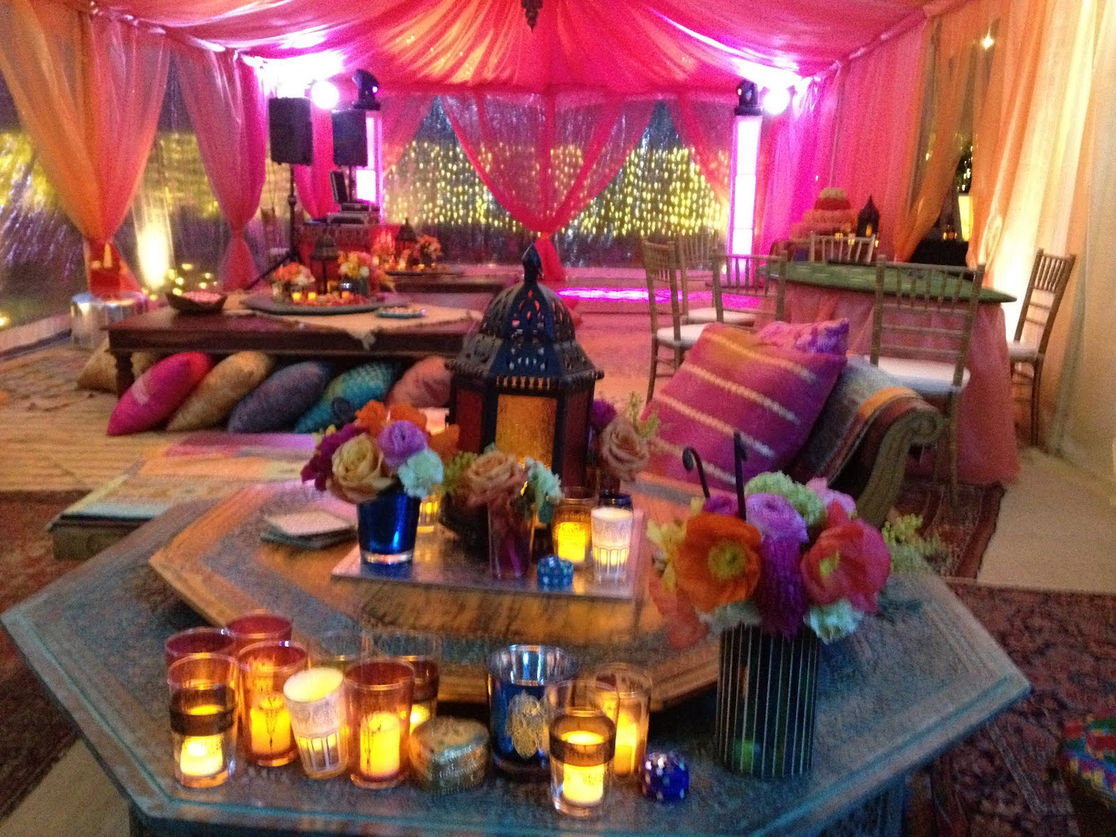 Moroccan party for Lounge setting ideas
