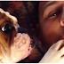 Adorable Bulldog Puppy Wants More Kisses