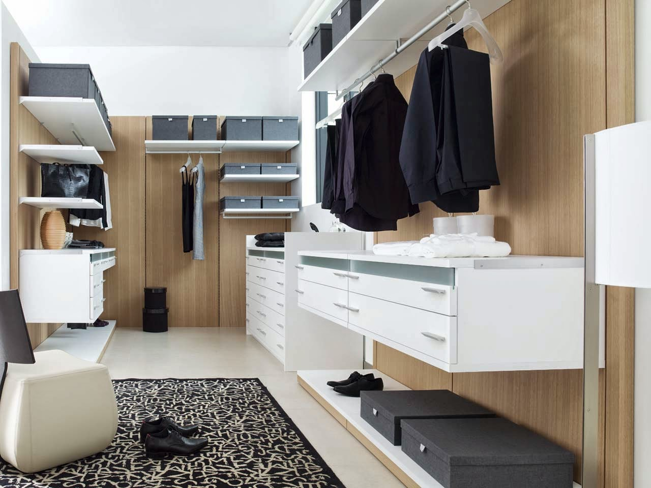 Wardrobes from Porcelanosa