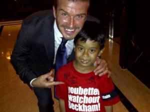 david beckham dan anak indonesia