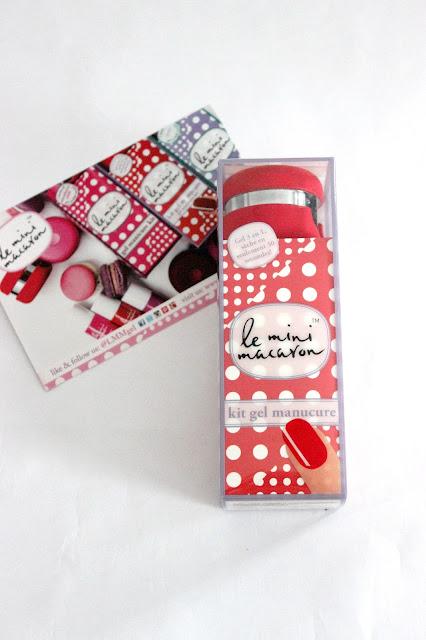 Kit gel manucure Le Mini Macaron