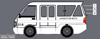 Trayek dan Info Angkot 018 di Tasikmalaya | Kisatasik