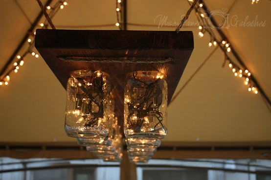 electrical wiring or suppliesmason jars christmas lights wood tough ropea little snip here a little sanding there and voila you have yourself - Mason Jar Christmas Lights