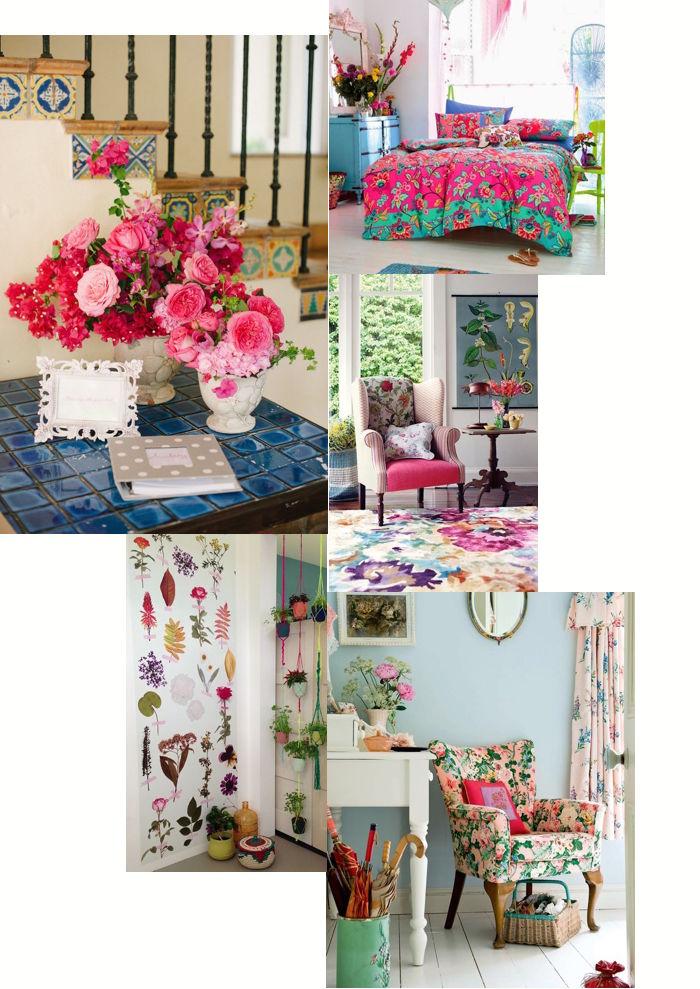 Un giorno di festa non solo wedding arredare la casa con for Arredare con i fiori