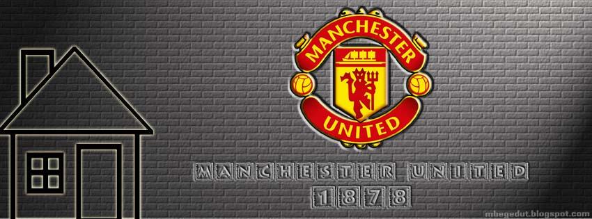 Manchester United Facebook Cover Cream Brick ( download )