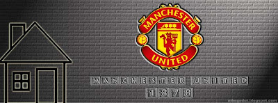 Manchester United Facebook Cover Cream Brick