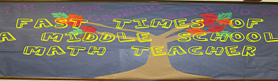 Fast Times of a Middle School Math Teacher