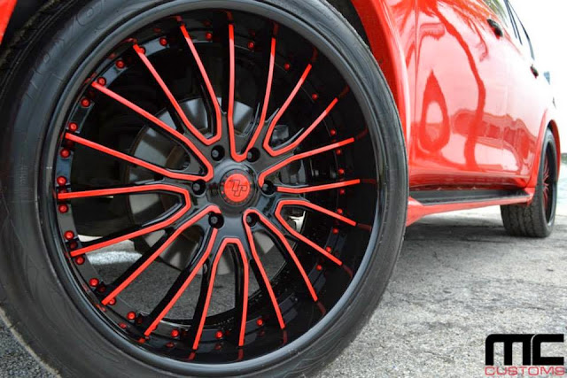 Infiniti QX56 on a set of Savini Wheels by MC Customs