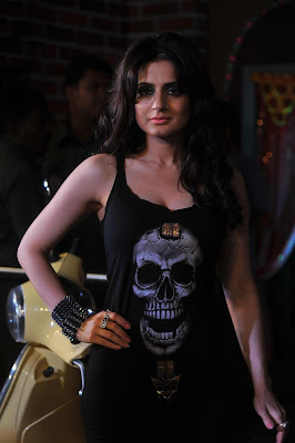 Ameesha Patel Supt Hot Photos At The Curtain Raiser Of Her First Home Production Film Desi Magic