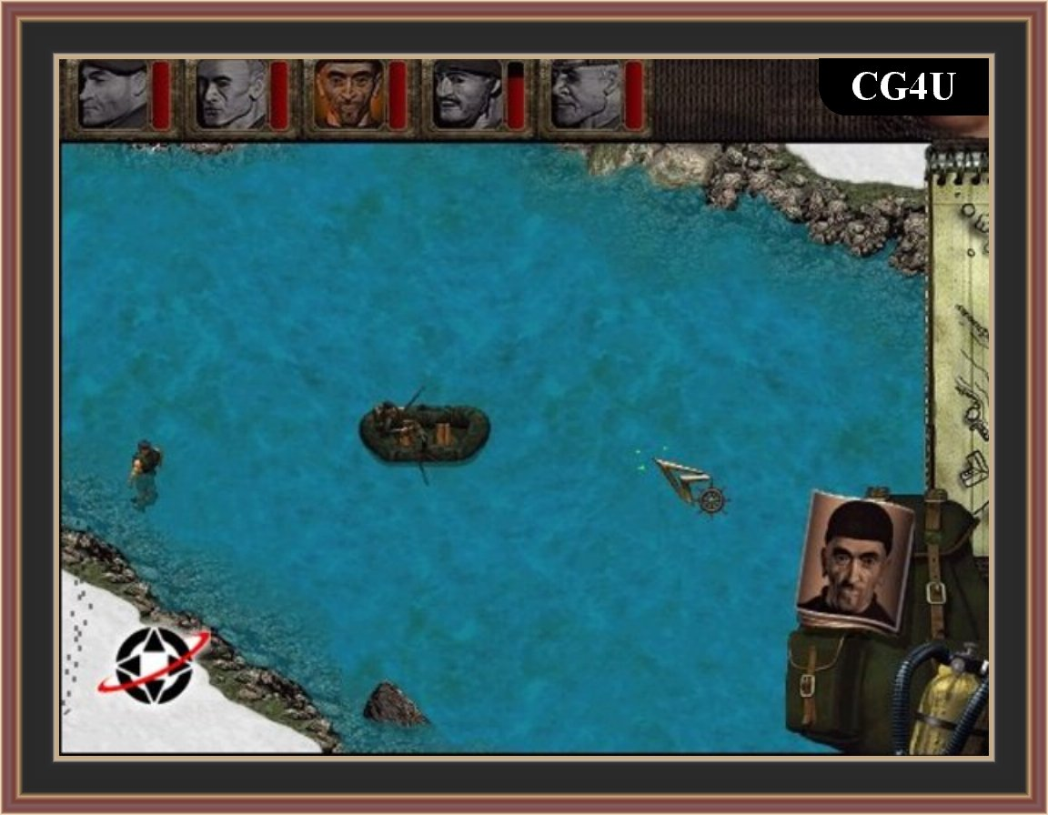 Commandos Behind Enemy Lines Screenshot
