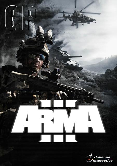 Cover Art militarizado de Arma III