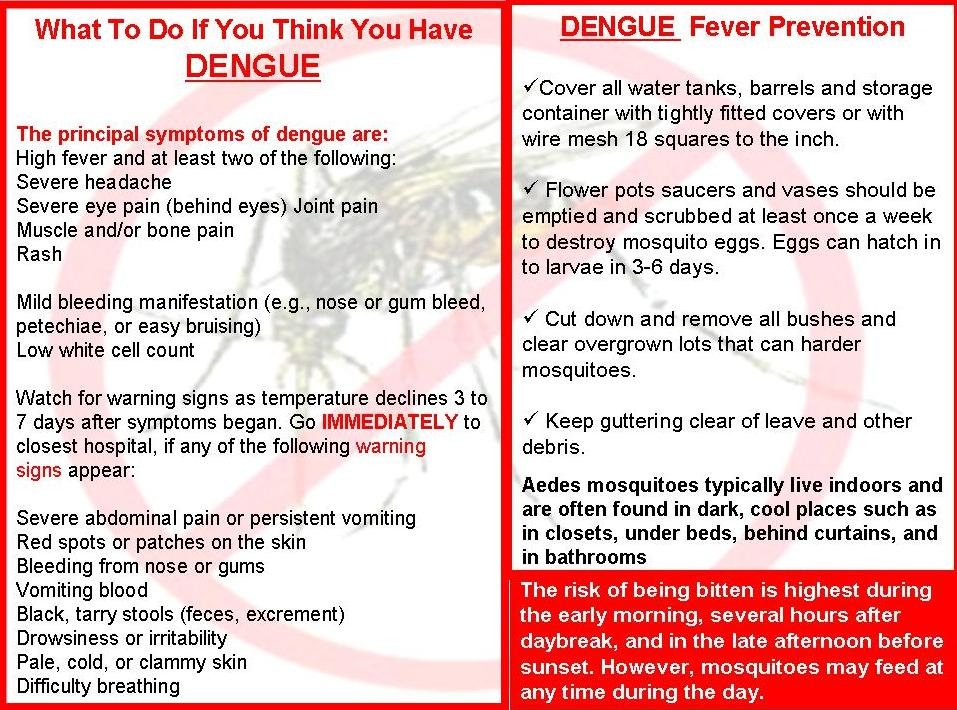 "platelet count of children with dengue fever biology essay A decreased platelet count may be due to dengue fever  according to ""dengue  vaccine: who position paper - july 2016"", who says that countries should."