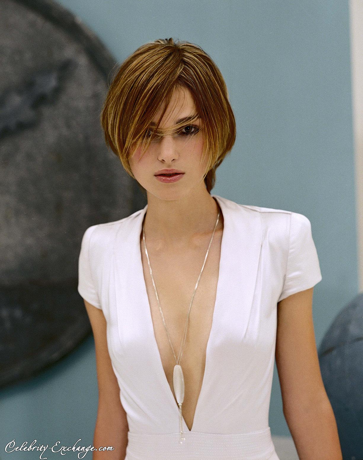 Keira Knightley Short Hairstyles