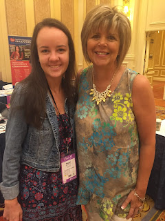 Megan Shea meeting Kim Adsit from Kindergals