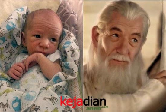 Bayi-bayi Lucu Bergaya Selebritis Dunia