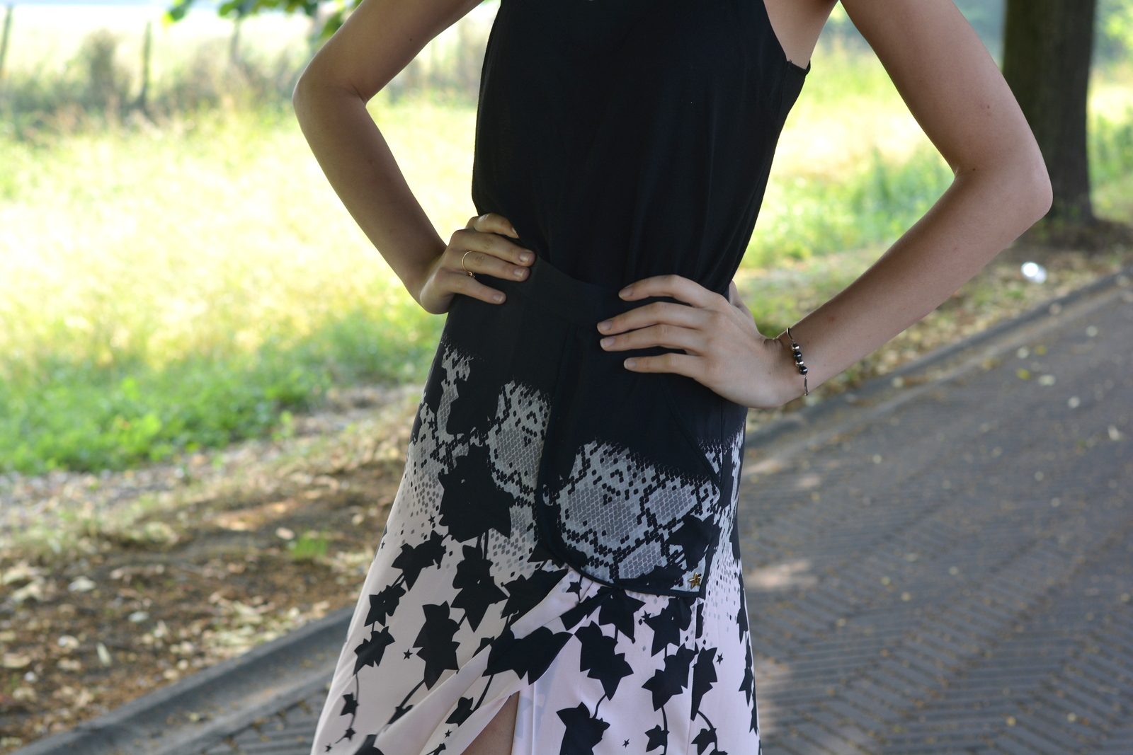 ootd, juliane borges, h&m, g2g, melissa, morellato, outfit, long skirt, summer,