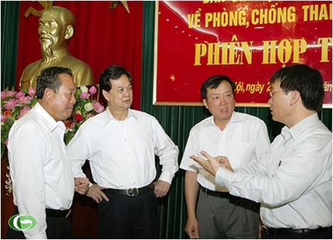Thủ tướng Nguyễn Tấn Dũng và công tác phòng chống Nguyễn Tấn Dũng