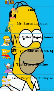 Homer Simpson Soundboard Screenshot