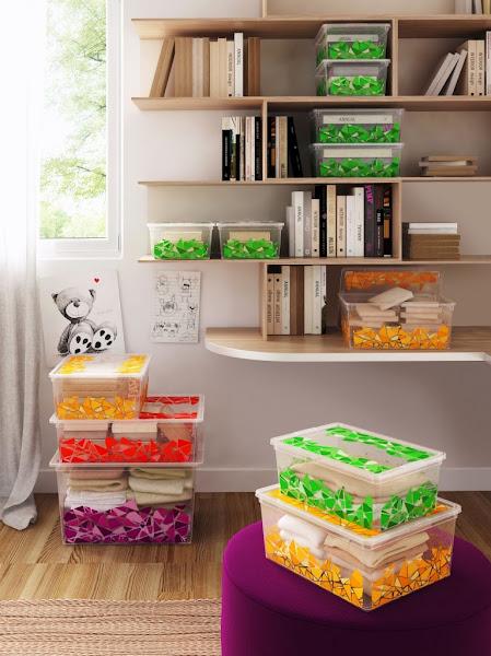 Chill decoraci n ordenar con cajas - Cajas para ordenar ...