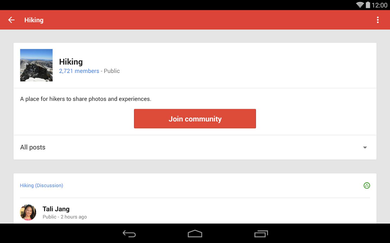 تحميل تطبيق جوجل بلس +Google للاندرويد