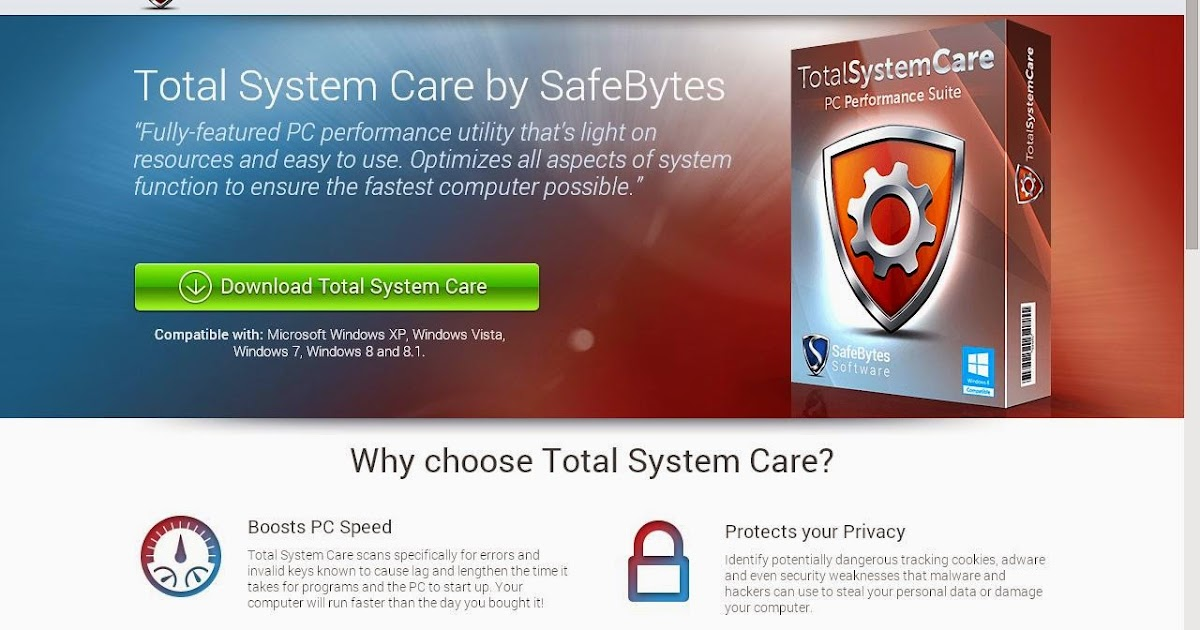 total system care safebytes
