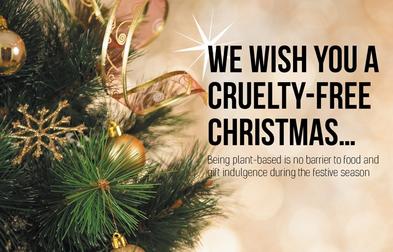 Vegan Life Magazine December 2015.  What do vegans eat at Christmas?  Seasonal vegan treats and snack ideas.  secondhandsusie.blogspot.co.uk #veganblogger #ukvegan #vegan