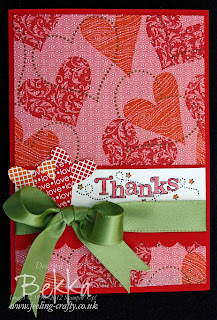 I Heart Hearts Sale-a-Bration Card