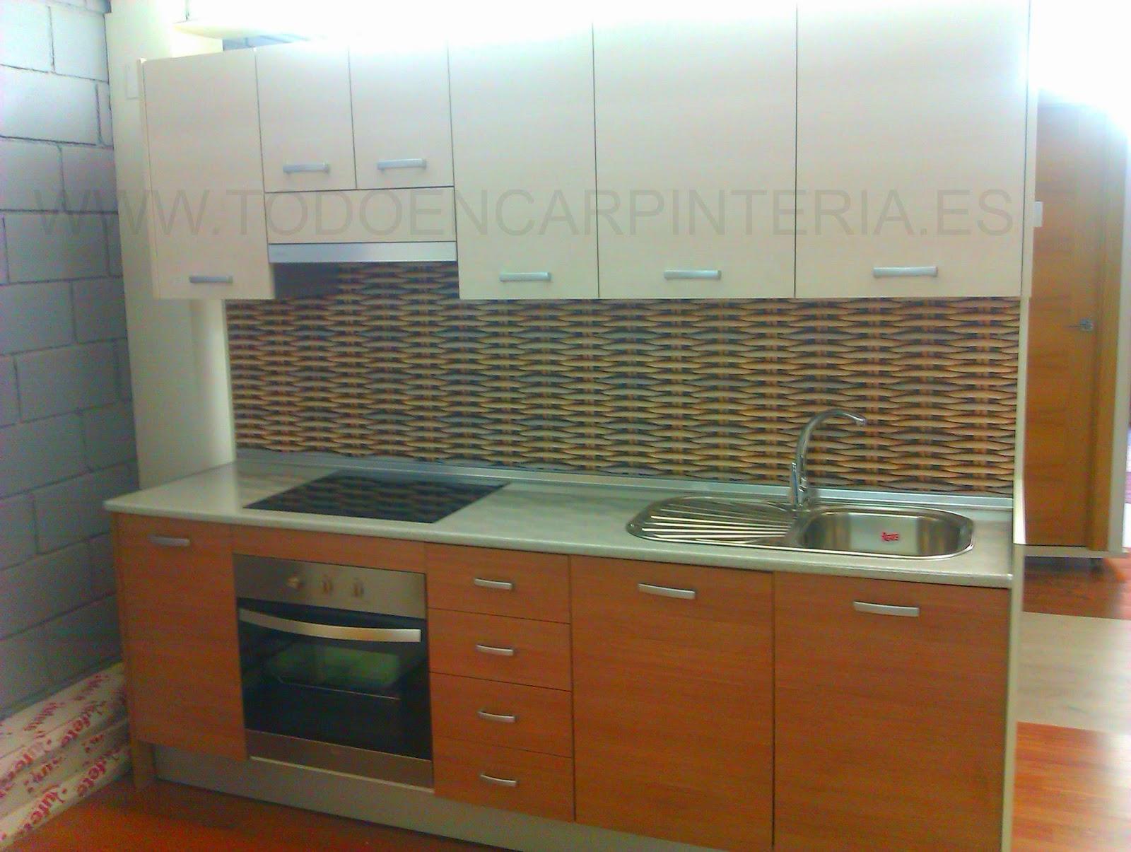 Muebles de cocina funcionales todo en carpinter a for Muebles de cocina funcionales