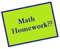 I never do my math homework