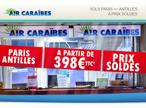 les antilles 398 euros promo air caraibes air bons plans promos voyages. Black Bedroom Furniture Sets. Home Design Ideas