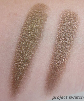 Maybelline Gold Shimmer, Urban Decay Smog