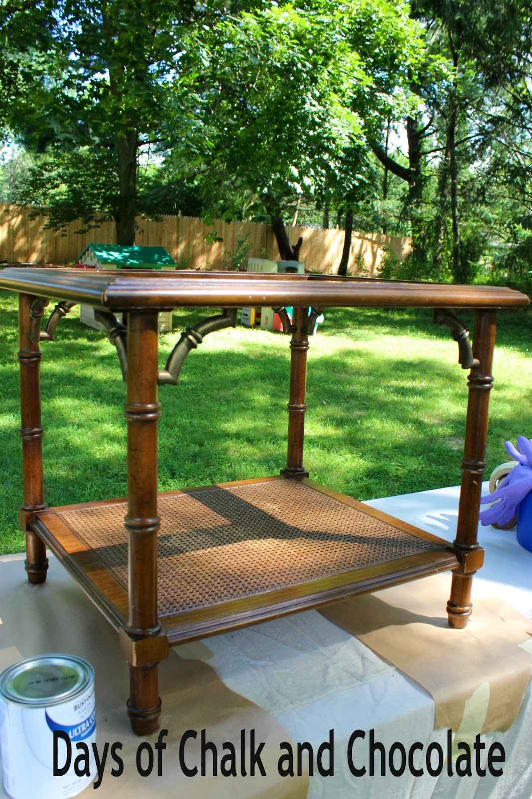 Goodwill Nightstand Furniture Redo