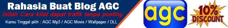 Buat Blog AGC