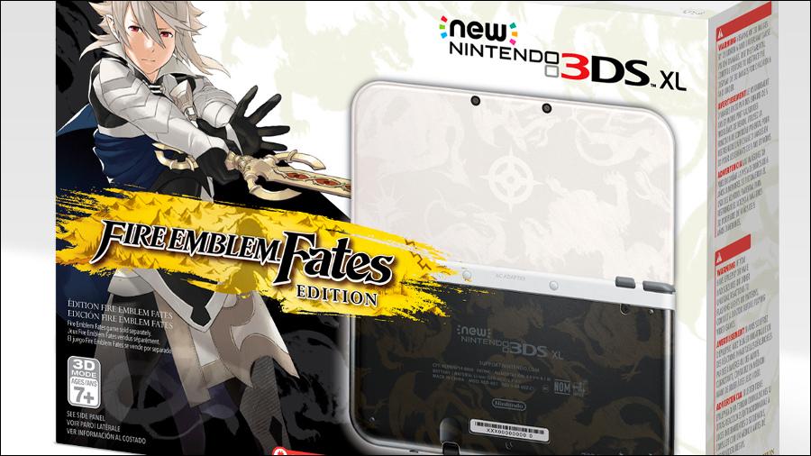 Nintendo confirma 3DS XL especial de Fire Emblem Fates